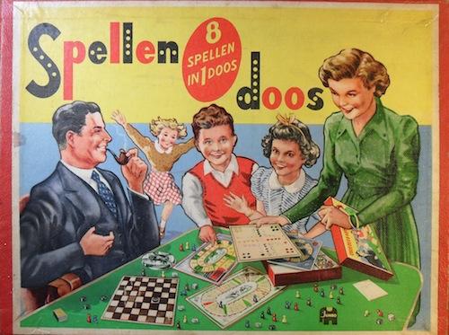 Spellendoos: 8 spellen in 1 doos
