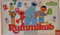 Rummikub - Sesamstraat