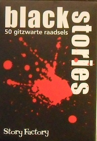 Black Stories - 50 gitzwarte raadsels