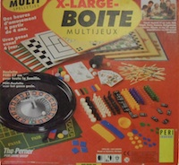 X-Large: Multi Spelletjes (X-Large: Boite Multijeux)