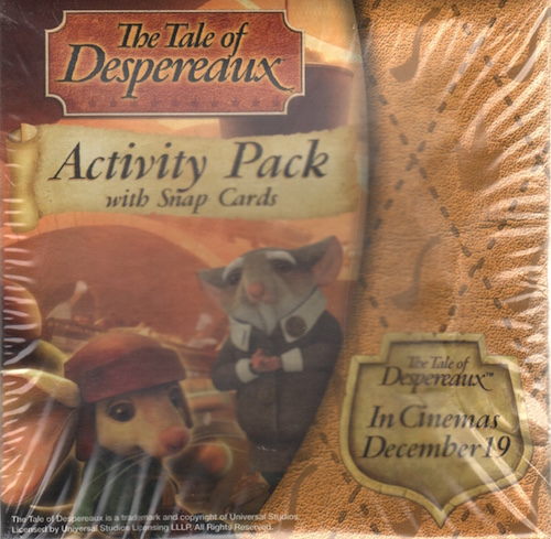 The Tale of Despereaux: Activity Pack with Snap Cards
