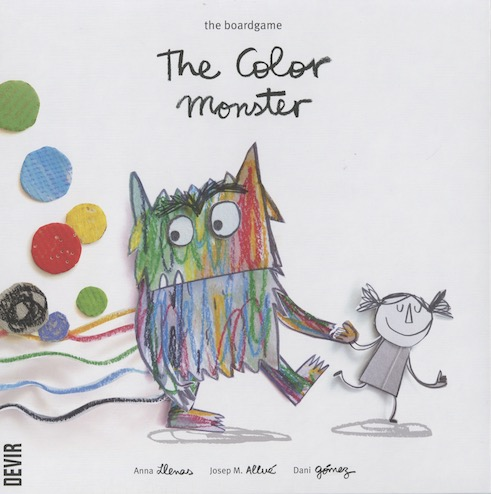 The Color Monster: The Boardgame