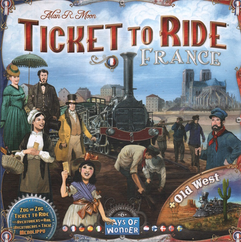 Ticket to Ride: France + Old West