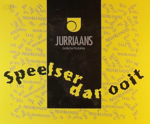 Jurriaans: Speelser dan ooit