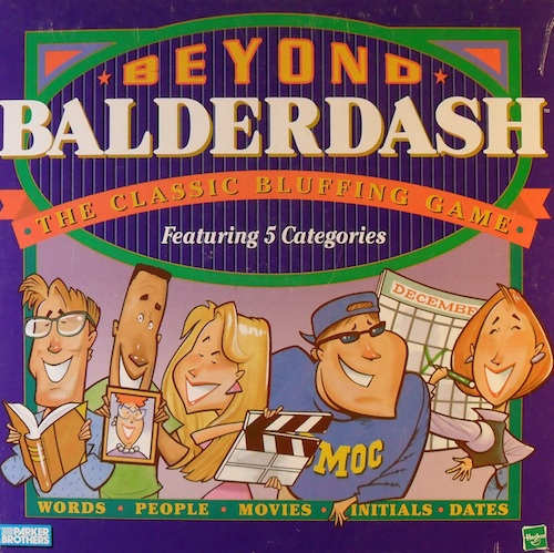 Beyond Balderdash: The Classic Bluffing Game