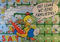 Het leuke WC-eend Familiespel