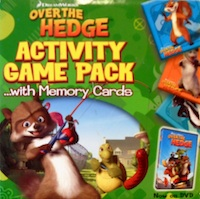 Over the Hedge - Activity Game Pack