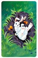 "Dixit Odyssey: ""Bunny"" promo card"