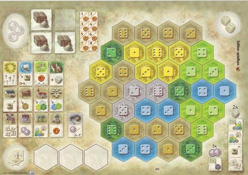 Burgen von Burgund: Neue Spielertableaus