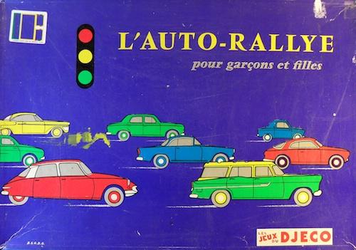 L'auto-Rallye pour garçons et filles