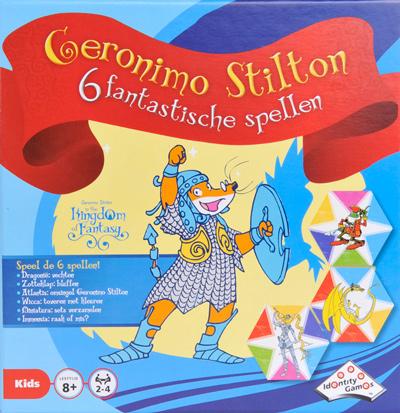 Geronimo Stilton: 6 fantastische spellen