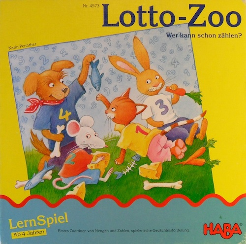 Lotto - Zoo (Beestenbingo)