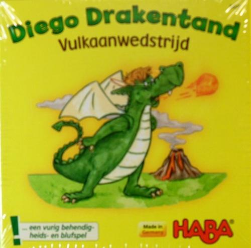 Diego Drakentand Vulkaanwedstrijd