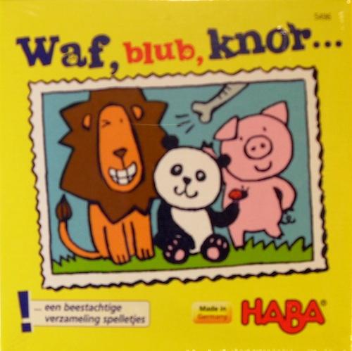 Waf, blub, knor...