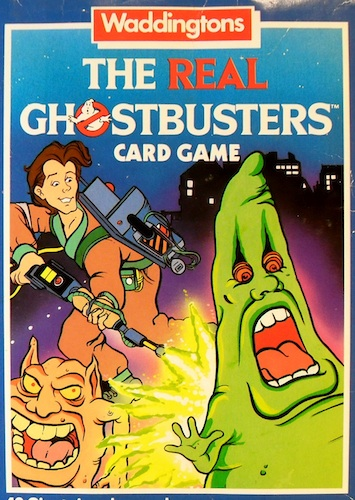 The Real Ghostbusters Card Game