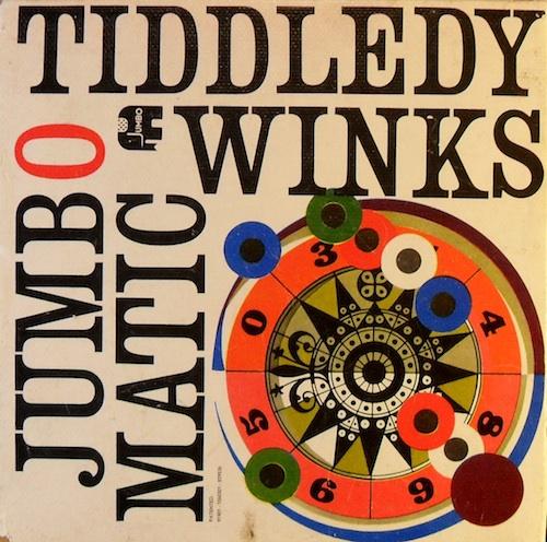 Jumbo Matic Tiddledy Winks (Vlooienspel)
