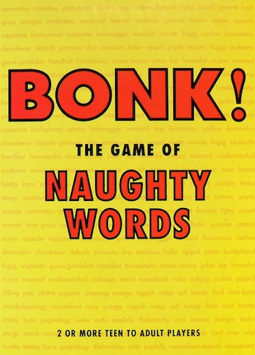 Bonk!: The game of naughty words