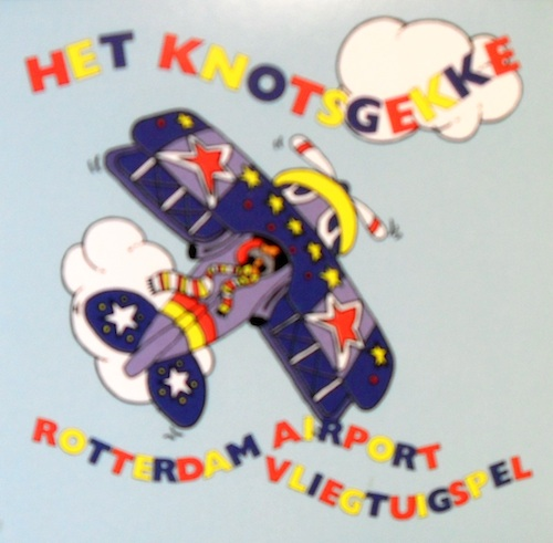 Het Knotsgekke Rotterdam Airport Vliegtuigspel