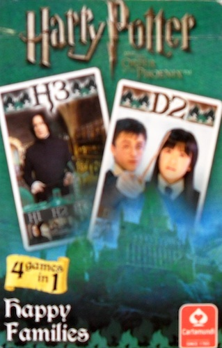 Harry Potter: Happy Families (4 games in 1)