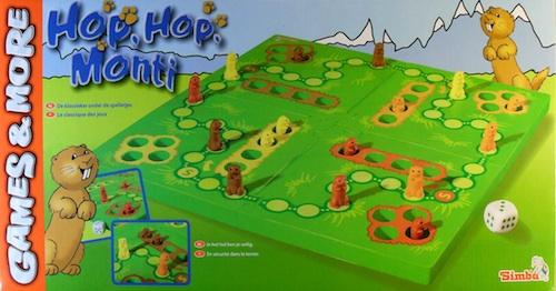 Hop, hop, Monti (marmotten Ludo)