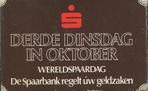 Derde dinsdag in oktober: Wereldspaardag