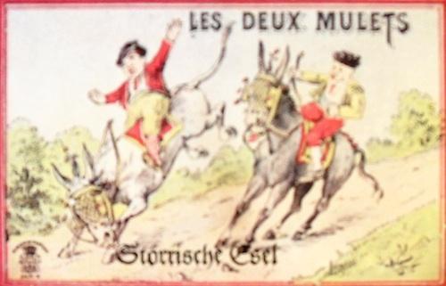 Les deux Mulets - Störrische Esel