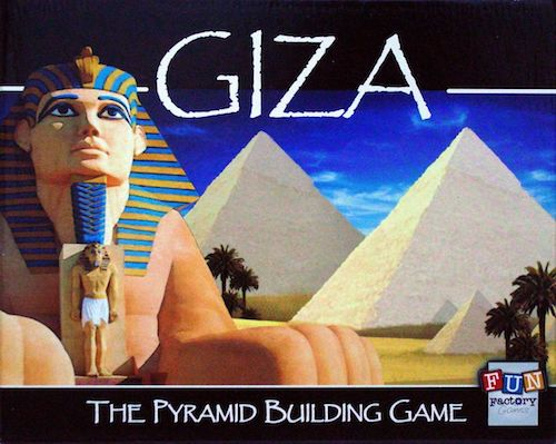 Giza: The Pyramid Building Game