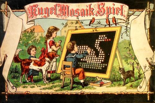 Kugel Mosaik Spiel