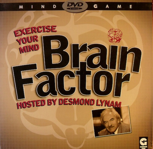Brainfactor (Hosted by Desmond Lynam)