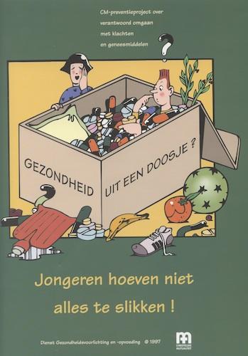 Gezondheid uit een doosje? (Jongeren hoeven niet alles te slikken!)