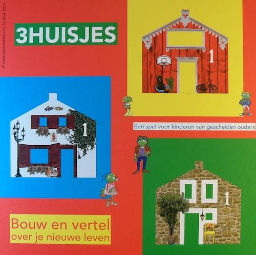 3 Huisjes (Een spel voor kinderen van gescheiden ouders)