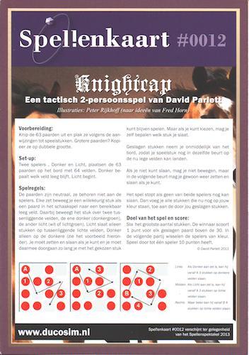 Spellenkaart #0012: Knightcap