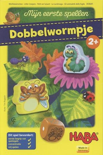 Mijn eerste spellen: Dobbelwormpje