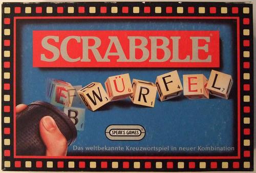 Scrabble Würfel: Das weltbekannte Kreuzwortspiel in neuer Kombination