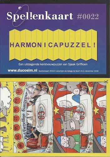 Spellenkaart #0022: Harmonicapuzzel!