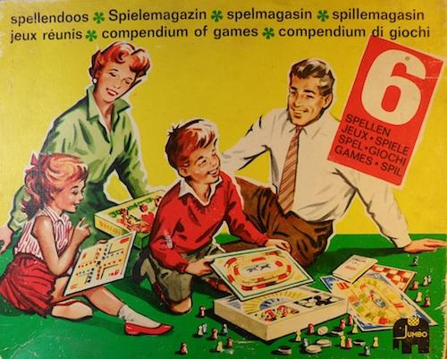 Spellendoos (6 spellen)