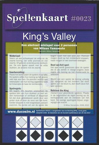 Spellenkaart #0023: King