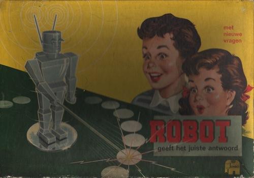 Robot Geeft het Juiste Antwoord