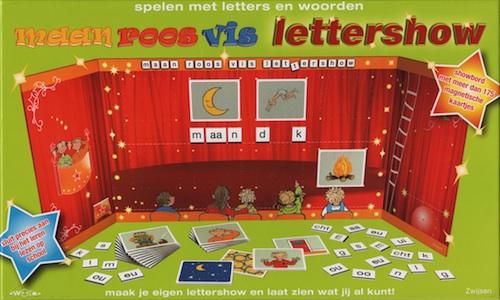 Maan Roos Vis: Lettershow