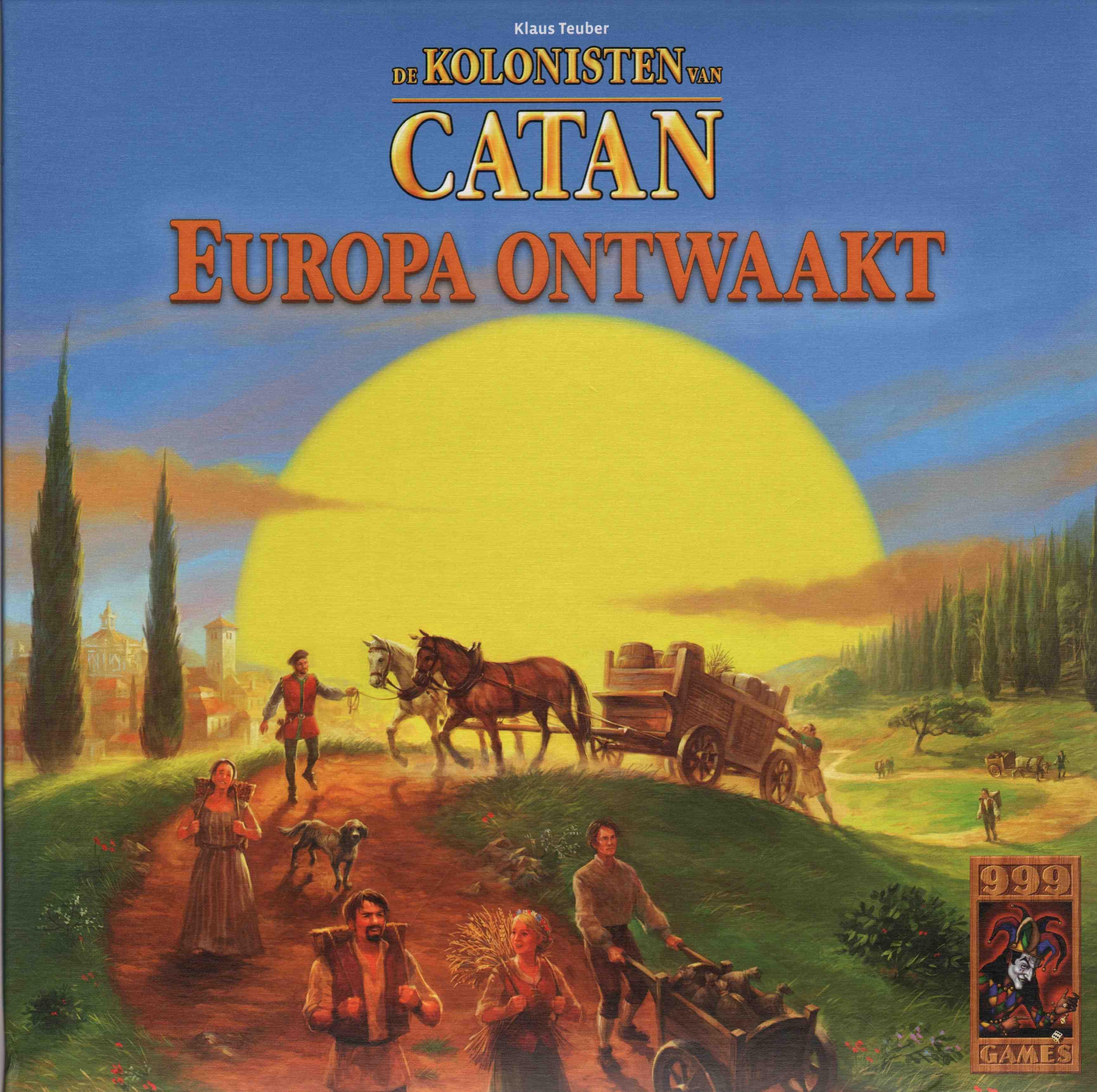 De Kolonisten van Catan: Europa Ontwaakt