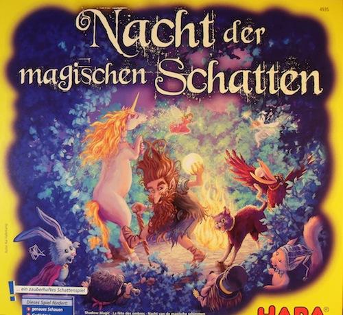 Nacht der Magischen Schatten (Nacht van de Magische Schatten)