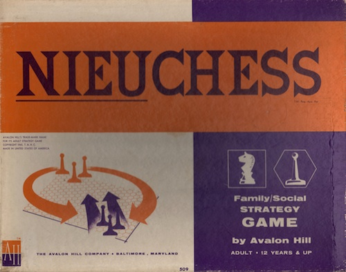 Nieuchess Adult Strategy Game
