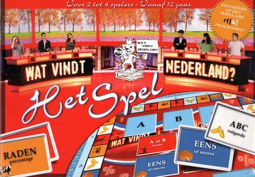 Wat vindt Nederland? - Het Spel