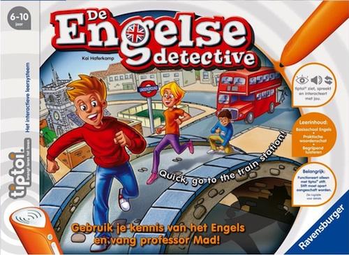 Tiptoi: De Engelse detective
