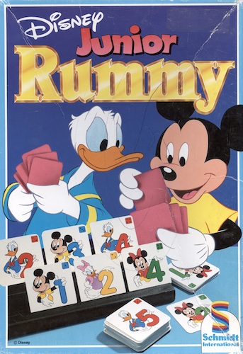 Rummy: Disney junior