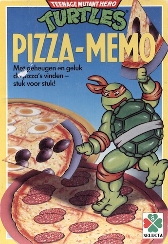 Turtles: Pizza-Memo