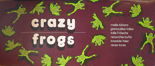Crazy Frogs (Malle kikkers)