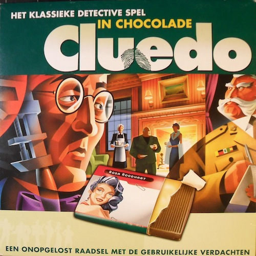 Cluedo (in chocolade)