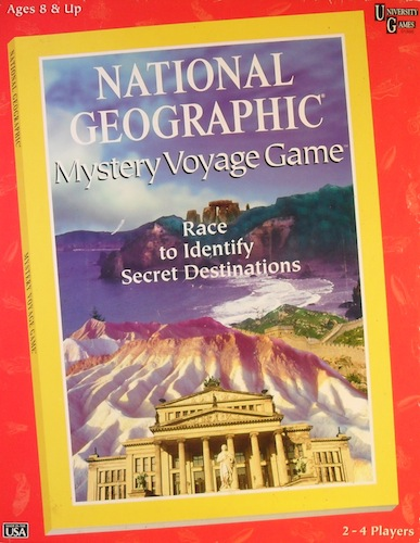 National Geographic: Mystery Voyage Game