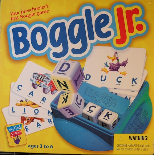 Boggle Jr. (Junior)